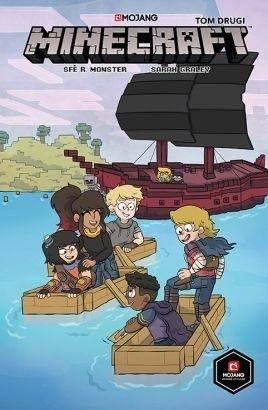 Minecraft komiks Tom 2 ZAKŁADKA DO KSIĄŻEK GRATIS DO KAŻDEGO ZAMÓWIENIA