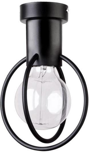 Lampa sufitowa AURA KOŁO 1 PLAFON czarny 31091
