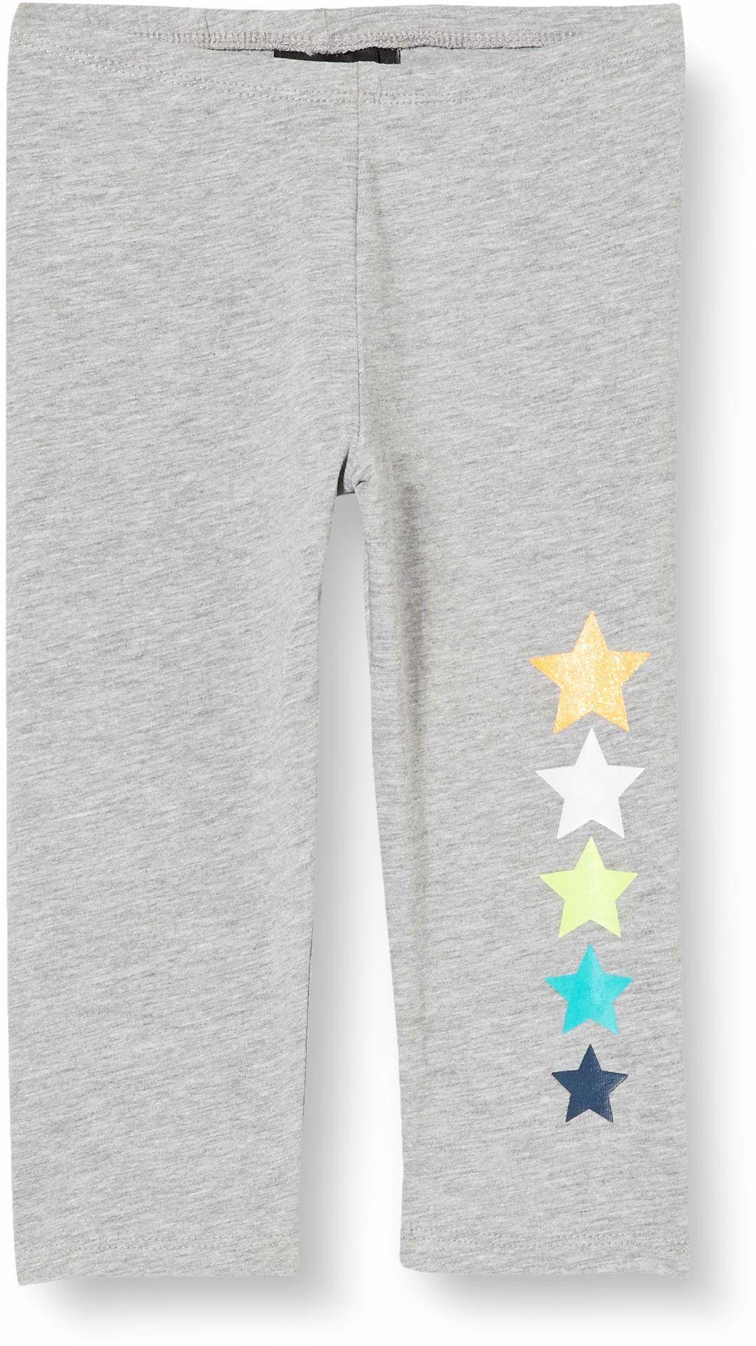 CMP dziewczęce spodnie Capri 30D8325M, Grigio Mel, 128