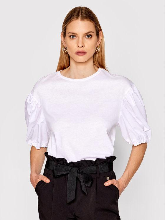 Imperial Bluzka TI90BAR Biały Regular Fit