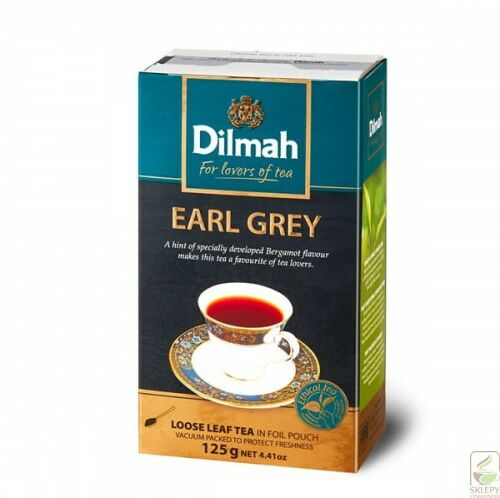 Dilmah Earl Grey Tea 125g liściasta