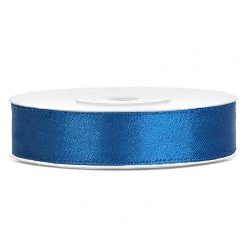 Tasiemka satynowa, niebieska