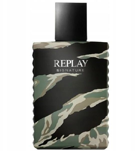 REPLAY Signature Man EDT spray 100ml