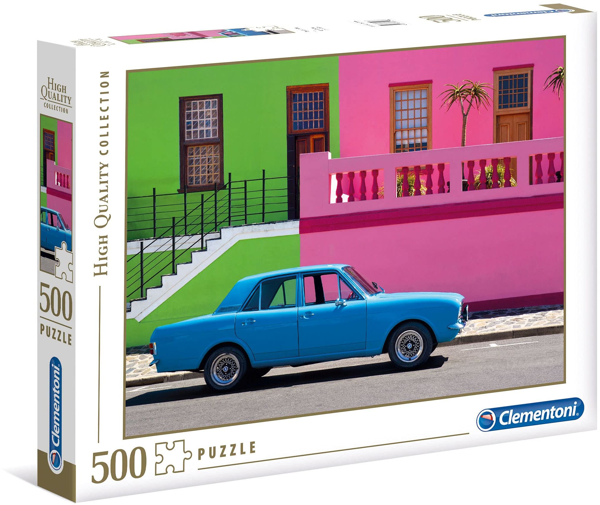 Clementoni 35076 HQC 500 szt. puzzle - niebieski samochód