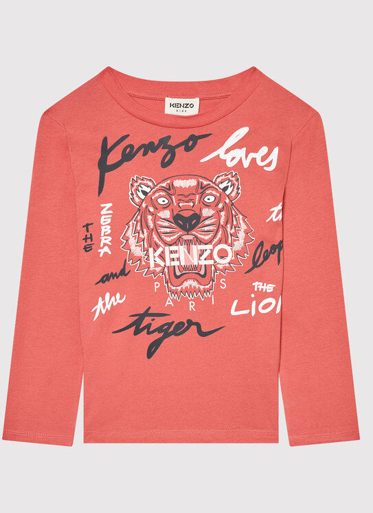 Bluzka K15170 Różowy Regular Fit