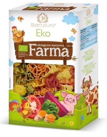 Makaron semolinowy dla dzieci FARMA BIO 250 g Bartolini