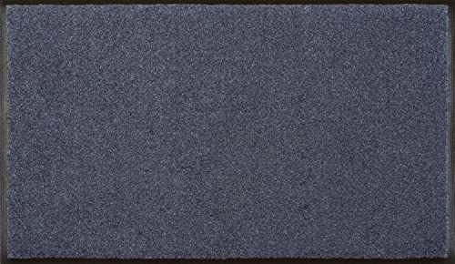 Wycieraczka stalowa niebieska 75 x 120 cm niebieska