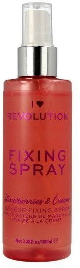 Make Up Revolution Makeup Revolution Mgiełka utrwalająca Fixing Spray Strawberries & Cream, 100 ml