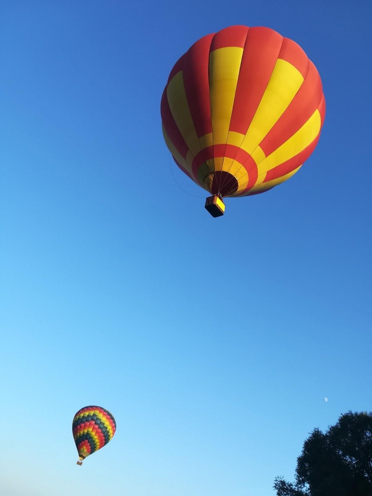 Lot balonem  Mazury