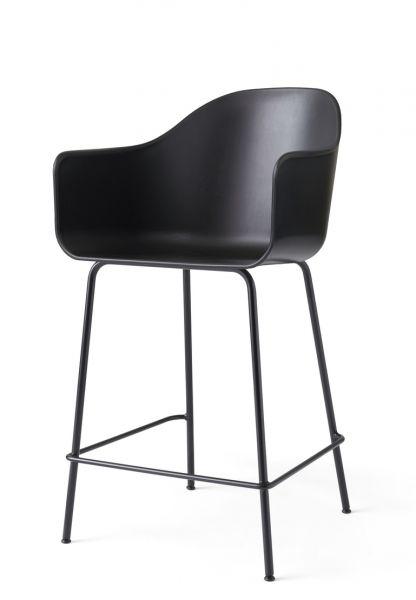 Menu HARBOUR Krzesło Barowe 102 cm Hoker Czarny