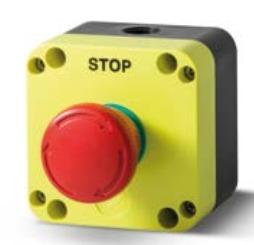 Grzybek bezpieczeństwa STOP w obudowie PQ01R4N