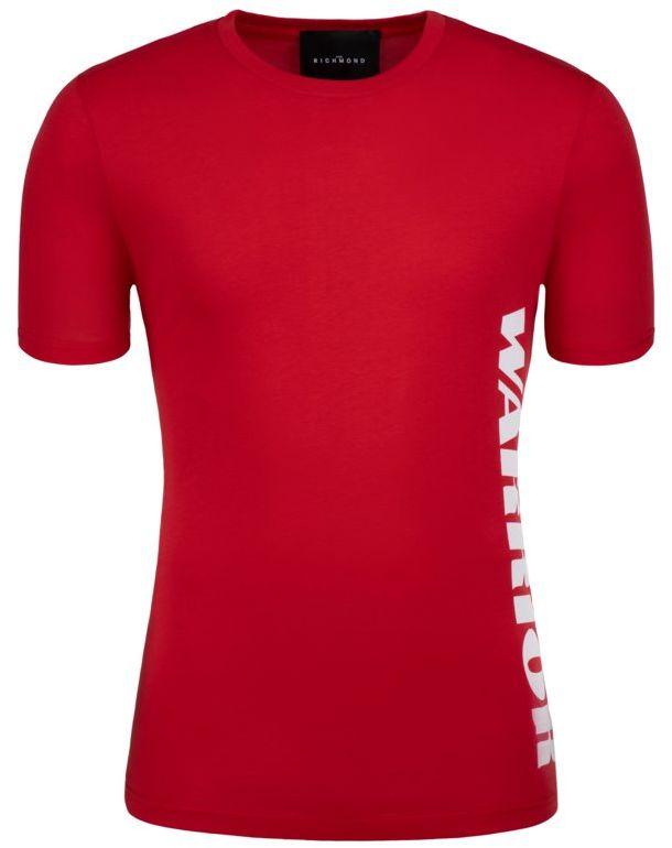John Richmond T-Shirt RMP19223TS Czerwony Regular Fit