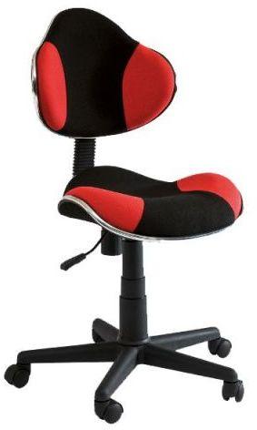 Fotel dziecięcy Q-G2 czarny/czerwony