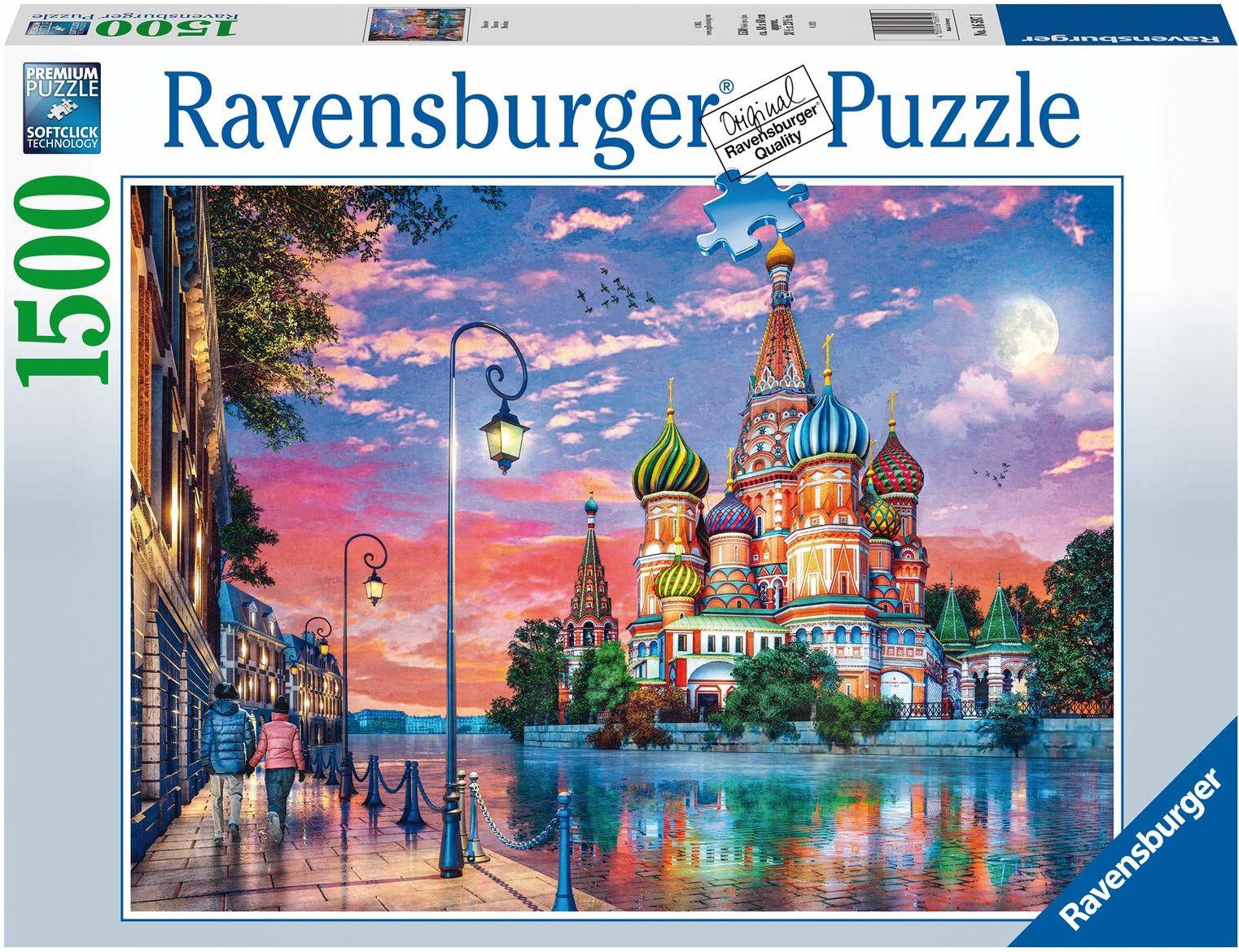 Ravensburger Puzzle 16597 Moscow 16597-Moscow-1500 części, wielokolorowe