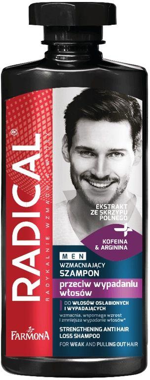 RADICAL MEN Wzmacniający szampon przeciw wypadaniu włosów 400ml