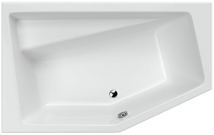 Excellent Vesper wanna narożna 160x100 cm lewa biała WAEX.VEL16WH