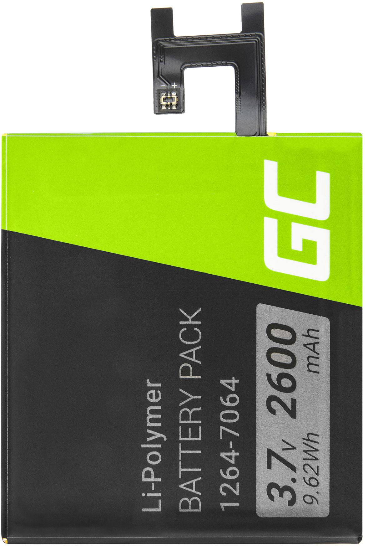 Bateria Green Cell LIS1502ERPC do telefonu Sony Xperia Z C6602 L36H L36i