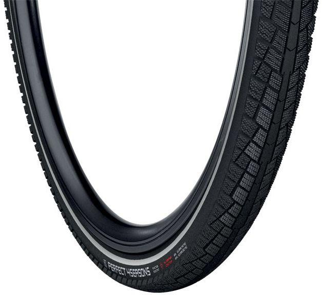 VREDESTEIN opona rowerowa trekkingowa perfect 4 season 28x1.50 (40-622) drut wkładka antyprzebiciowa refleks czarna VRD-28123,8714692354304