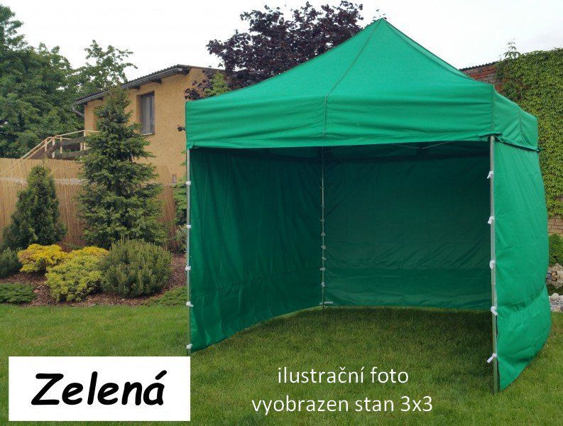 Namiot ogrodowy PROFI STEEL 3 x 6 - zielony