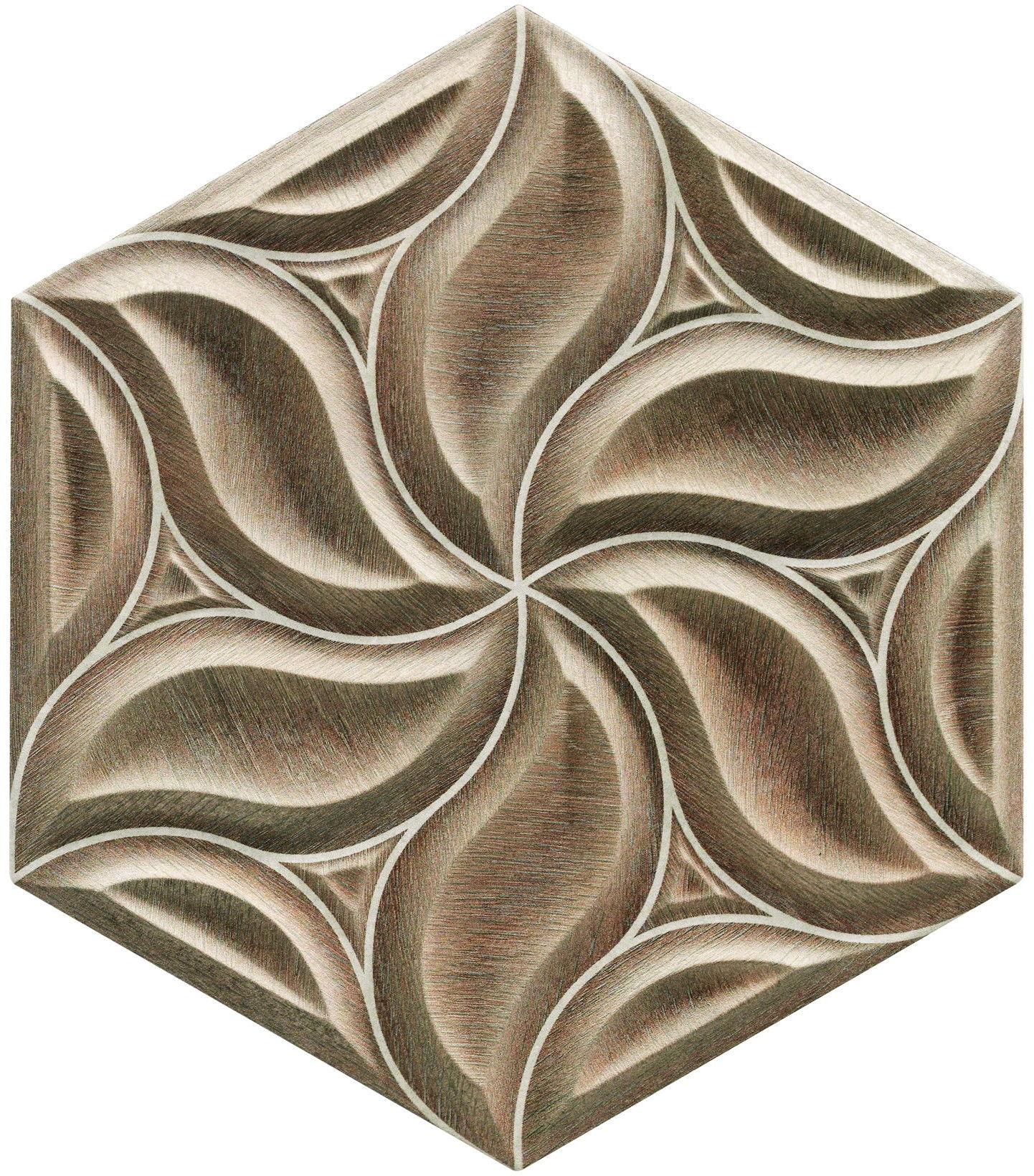 Ivy Oak 28,5x33 płytki heksagonalne ścienne