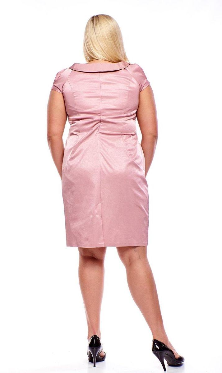 Sukienka FSU213 RÓŻOWY JASNY
