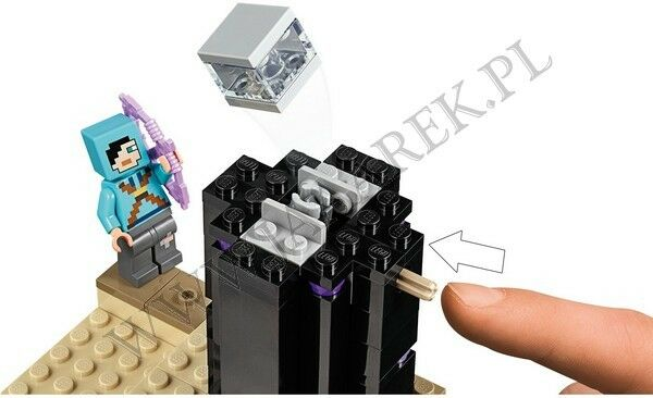 LEGO - MINECRAFT - WALKA W KRESIE - 21151