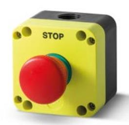 Grzybek bezpieczeństwa STOP w obudowie PQ01P4N