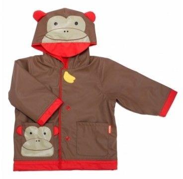Skip hop - Płaszcz Przeciwdeszczowy zoo Małpa l 5 - 6 lat
