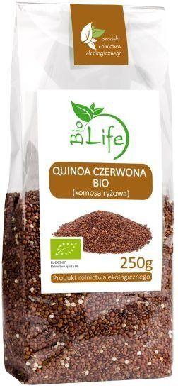 Quinoa Czerwona (Komosa Ryżowa) 250g - BioLife