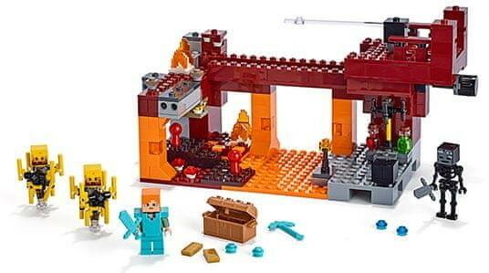LEGO - MINECRAFT - MOST PŁOMYKÓW - 21154