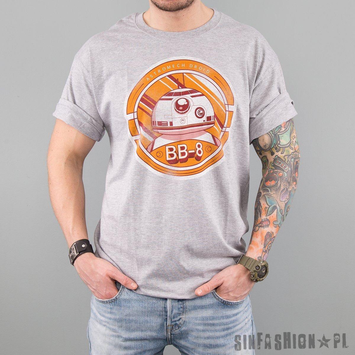 Koszulka star wars - bb-8 distres