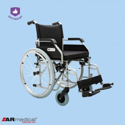 Wózek inwalidzki stalowy OPTIMUM AR-400