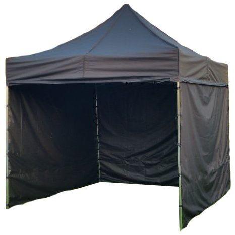 Namiot ogrodowy PROFI STEEL 3 x 3 - czarny kolor