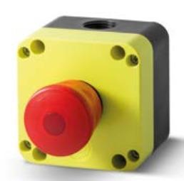 Grzybek bezpieczeństwa STOP z podświetleniem PQ01P4L