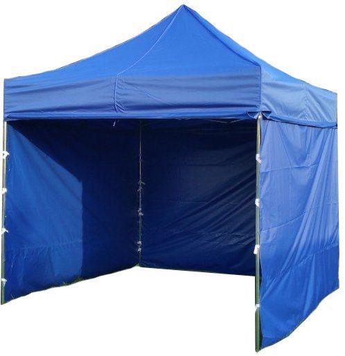 Namiot ogrodowy PROFI STEEL 3 x 3 - niebieski