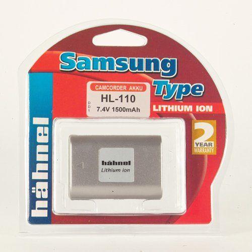 Hähnel HL-110 7,4 V 1350 mAh Li-Ion akumulator zastępczy typ Samsung SB-L110 również do Medion MD9021