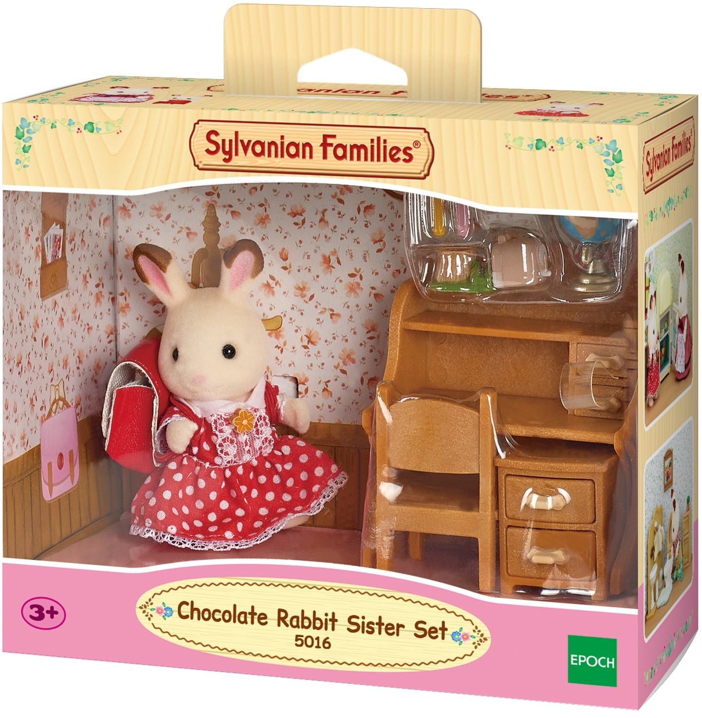 Sylvanian Families 5016 meble do domu dla lalek, wielokolorowe