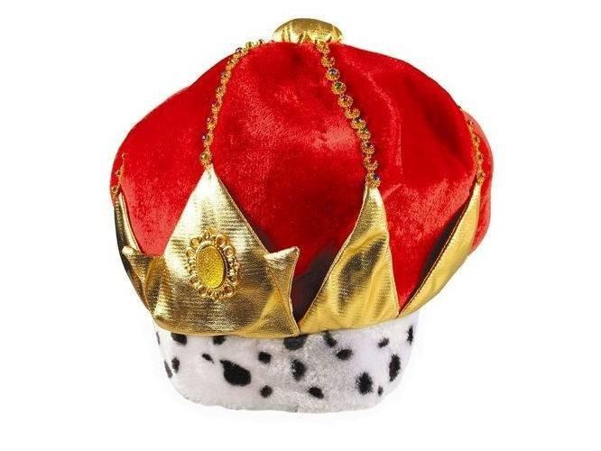 Czapka korona króla - 1 szt.