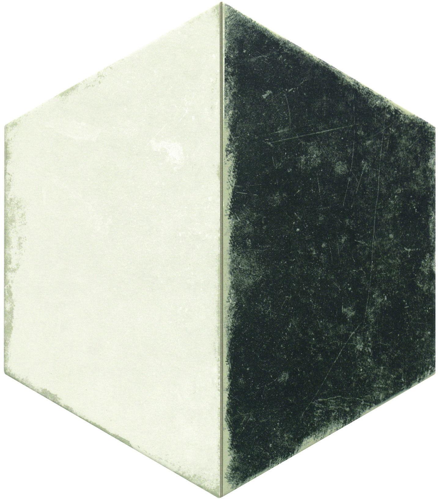 Trapez Vintage B&W 28,5x33 płytki heksagonalne