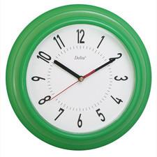 Zegary ścienne kolorowe DELTA