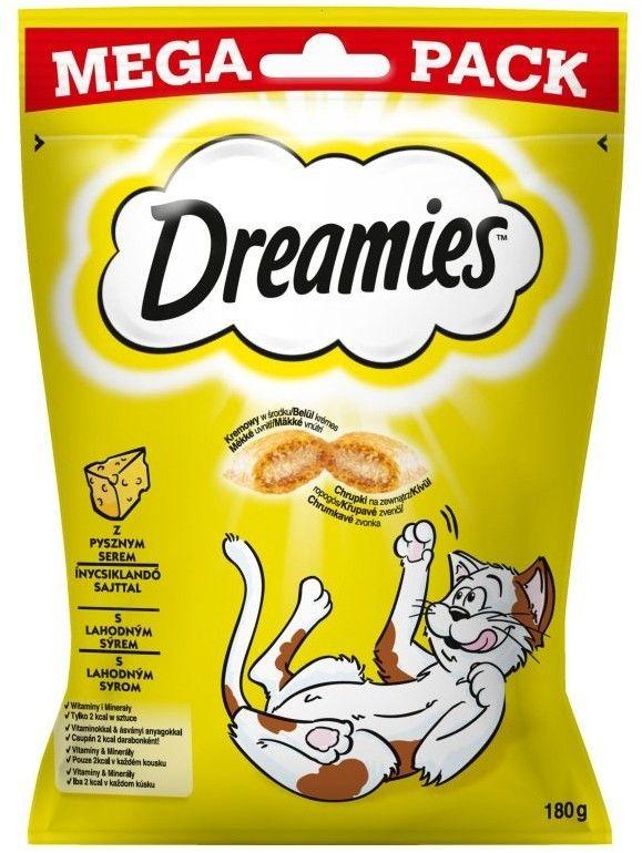 DREAMIES Mega Pack 180g - przysmak dla kota z pysznym serem