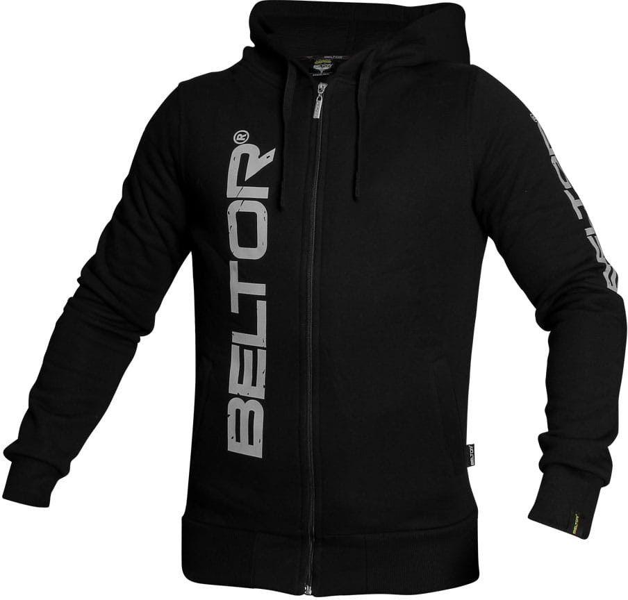 Beltor bluza z kapturem Zip Hoodie Original czarna