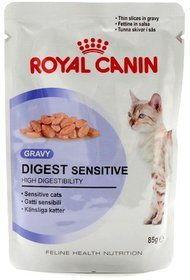 ROYAL CANIN Digest Sensitive 12x85g karma mokra w sosie dla kotów dorosłych, wrażliwy przewód pokarmowy