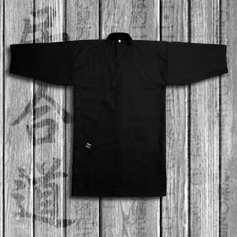 kimono do iaido TONBO - KUROI, czarny