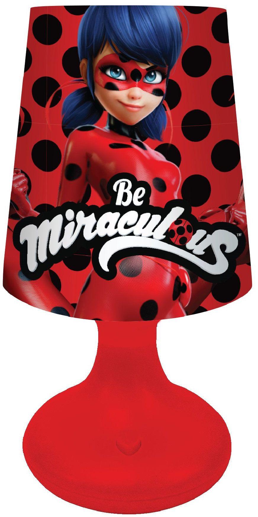 Joy Toy 65971 figurki i charactere Ladybug LED mini klosz 7 x 18 cm  zasilany bateriami  w opakowaniu na prezent