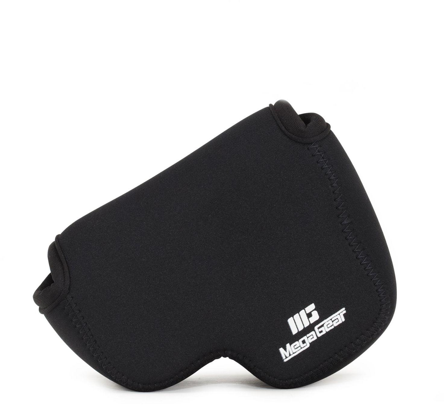 MegaGear ''Ultra Light'' neoprenowa torba na aparat z karabińczykiem do aparatu cyfrowego Nikon COOLPIX B500 (czarna)
