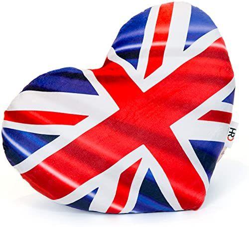 Poduszka w kształcie serca Union Jack