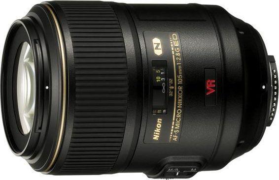 Nikon AF-S 105mm f/2.8 G IF-ED VR Czarny