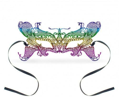 Maseczka koronkowa, Tęczowy Motyl