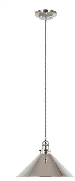 Provence Polished Nickel - Elstead Lighting - lampa wisząca kuchenna